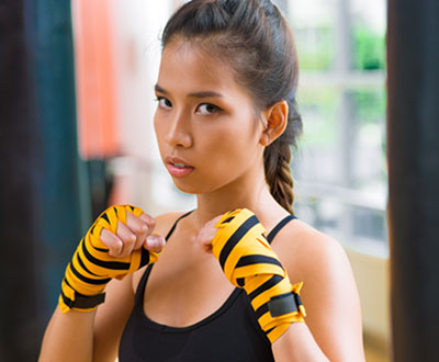 Muay Thai martial arts